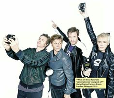 Duran Duran Photoshopped to hell and back
