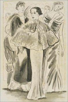 * Elsa Schiaparelli en Schiaparelli par Beaton en 1933