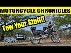 My dual sport adventure trailer that I purchased from Kipmoto, the SherpaX. I've taken it out on a couple of test rides behind my to see how it handle. Expedition Trailer, Motorcycle Travel, Dual Sport, Yamaha, Trips, Purpose, Motorcycles, Adventure, Videos