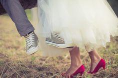 Red Wedding High Heels