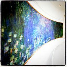 Monet at Musee la Orangerie in Paris  I WANT TO GO BACKKK