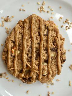 Cookie chocolat noir, pecan et praliné sesame par Yann Couvreur adapté sans gluten sur www.toutpareiletsansgluten.fr