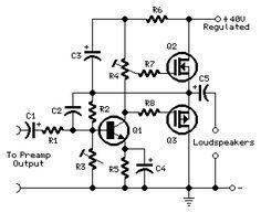 Mini MosFet Power Amplifier