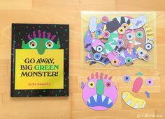 """Wortschatzeinführung zum Thema """"face"""" im Englischunterricht der Grundschule mit dem Storybook """"Go away big green monster"""""""