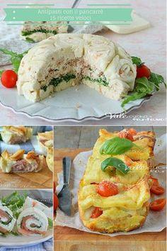 Appetizer Recipes, Appetizers, Zucchini Lasagna, Happy Foods, Antipasto, Bruschetta, Street Food, I Foods, Finger Foods