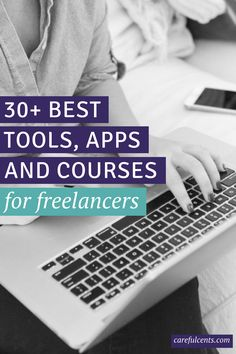 Here are my favorite tools, apps and products that I use in my freelance business everyday! Many of which are free.