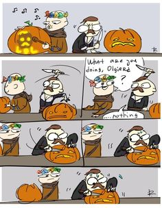 Halloween pumpkin carving (doodle by icpe) #TheWitcher3 #PS4 #WILDHUNT #PS4share #games #gaming #TheWitcher #TheWitcher3WildHunt