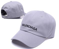3a32a8b226dd2 Men s   Women s Balenciaga Classic Balenciaga Logo Embroidery Baseball  Adjustable Hat - Grey   Black Balenciaga