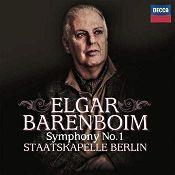 John J. Puccio at Classical Candor reviews Elgar: Symphony No. 1, with Daniel Barenboim and the Staatskapelle Berlin on a Decca CD.