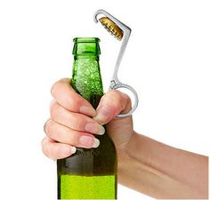 One-Handed Bottle Opener $25 | 29 Clever Gifts For People Who Love To Drink