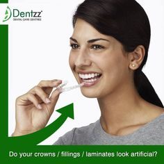 Dental implants look just like the real thing. A patient must take care of the implants just like he or she would take care of real teeth. Regular brushing and flossing is required and a high level of hygiene is essential to ensure that the benefits of the procedure last a lifetime.