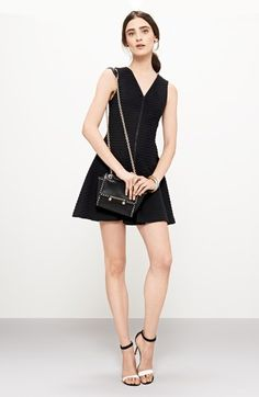 Theory Knit Dress & Accessories  available at #Nordstrom
