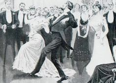 The Belle Epoque how to dance videos!  Edwardian, The Cake Walk, Ragtime and more.  I'm obessed with the Animal Dances, particulary The Bear.