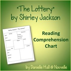 a report on the economics in the short story the lottery by shirley jackson The lottery by shirley jackson is the story of a village following a tradition that results in the sacrifice of one citizen each year by stoning the.