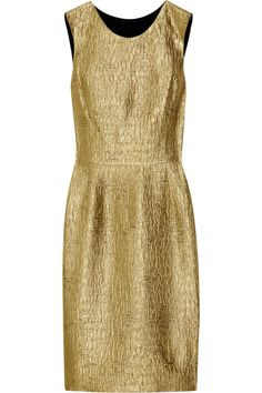 Oscar de la Renta Gold Dress