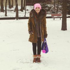 A cute #BEARPAW look for winter <3