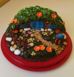 Auenland - Hobbit Haus Cake Art, Desserts, Food, Hobbit Houses, Birthday, Cakes, Craft, House, Meal