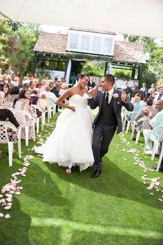 Dancing Down The Aisle Wedding