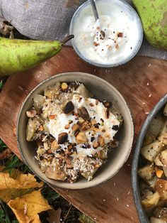 Vanilj & kardeummapäron — Yowill - dietisterna Simply Recipes, Simply Food, Sugar And Spice, Recipe Of The Day, Healthy Snacks, Vegetarian Recipes, Sweet Tooth, Spices, Brunch