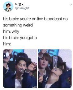 But that jawline tho 👀 Got7 Meme, Got7 Funny, Funny Kpop Memes, Exo Memes, Hilarious, Jaebum Got7, Yugyeom, Youngjae, Got7 Jb