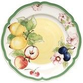 French Garden Menton Salad Plate 8 in. - The French Garden Menton Salad Plate 8 in. is part of Villeroy and Boch's French Garden collection. Yellow Dinnerware, Porcelain Dinnerware, Mint Table, Tabletop, Lattice Design, Villeroy, China Painting, Ceramic Painting, Summer Fruit
