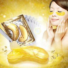 30шт=15 пар, Высокое качество, Gold Crystal коллагеновая маска для глаз, Горячая распродажа, повязки для глаз