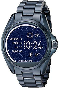 Michael Kors Access Touch Screen Blue Bradshaw Smartwatch MKT5006