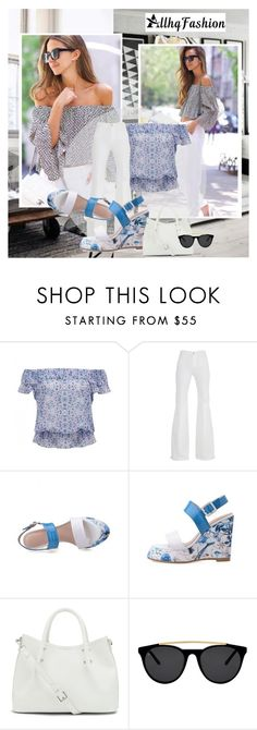 """""""AllhqFashion.com 19"""" by n-lejla ❤ liked on Polyvore featuring Forever New, 7 For All Mankind, Vince Camuto, Smoke & Mirrors, women's clothing, women, female, woman, misses and juniors"""