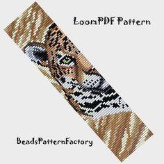 Loom Bracelet Patterns, Bead Loom Patterns, Weaving Patterns, Loom Bracelets, Bead Embroidery Patterns, Beading Patterns Free, Beaded Embroidery, Beading Ideas, Bead Loom Designs