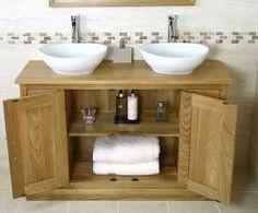 Bathroom Double Sink Vanity Units traditional oak vanity unit | bathroom | valencia | bathroom