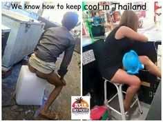 Keeping cool in Thailand