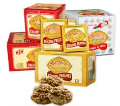 Aunt Sally's Pralines- Get them in the French Market in New Orleans. Shop for coffee to pralines to pickles!  www.auntsallys.com