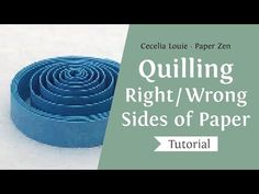 Welcome to Paper Zen ~ Cecelia Louie: Quilling Basics and Free Patterns Diy Quilling Crafts, Paper Quilling Tutorial, Neli Quilling, Quilled Paper Art, Paper Quilling Designs, Quilling Cards, Paper Crafts, Quilling Ideas, Quilling Instructions