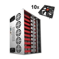 Crypto Coin Open Air Mining Frame Rig Graphics Case ATX Fit 12 GPU Mag – Fun Gear and Gadgets