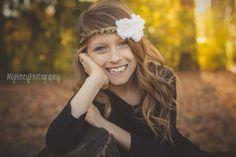 Little girl photography model