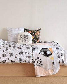 bedlinen-owls