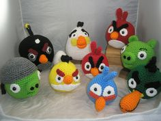 Angry birds.....I think they are adorable!