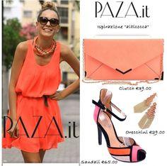 Albicocca.. sandali http://www.paza.it/produkt/6546,santos-coral-sandals orecchini http://www.paza.it/produkt/6367,coral-small-square clutch http://www.paza.it/produkt/6525,asta-apricot-clutch