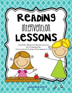 Reading Intervention for Kindergarten