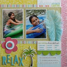 Scrapfest_SandAndSurfWorkshop_Layout2 Bella Blvd #bellablvd by Laura Vegas