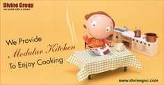 Modular kitchen in every #Divine home is specifically made to enjoy the cooking while preparing delicious recipes. So, start the process now to reap the benefits of nicely designed kitchen. http://www.divinegoc.com/