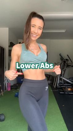 Gym Workout Videos, Abs Workout Routines, Butt Workout, Gym Workouts, At Home Workouts, Fitness Exercises, Lower Ab Exercises, Morning Ab Workouts, Hamstring Exercises