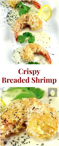 Healthy Breaded Shrimp Recipe — Dishmaps