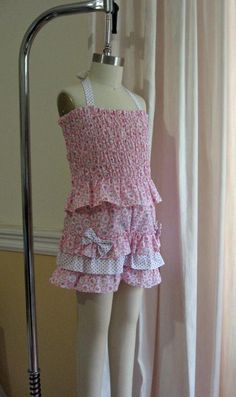 (9) Name: 'Sewing : Silly Frilly Shorts Pattern