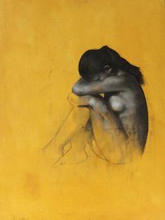 "Patrick Palmer; Painting, ""Hidden"""