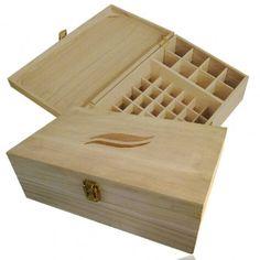 Aroma-Zone - coffre bois aromathérapie