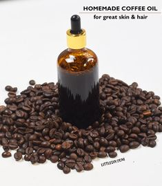 This homemade coffee oil is rich in antioxidants and fatty acids that are crucial ingredients to help keep your skin looking at its best. The caffeine in coffee improves the blood flow to the face, wh | Life made simple