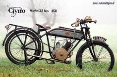 Clyno 2,5 hp.  1921