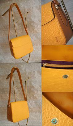 Borsa pelle Epi gialla Louis Vuitton € 280,00  per info: info@petitnoir-vintage.it
