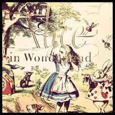 "Click through for ""19 Fun Facts About Children's Books Spotted at the Library"" -- Shown: ""'Alice in Wonderland' used to be banned in parts of China. 'Bears, lions and other beasts cannot use a human language,' said General Ho Chien in 1931. 'To attribute to them such a power is an insult to the human race.'"""